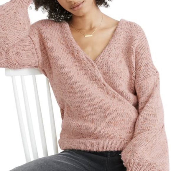 LIKE NEW | Madewell Beresford Wrap Sweater